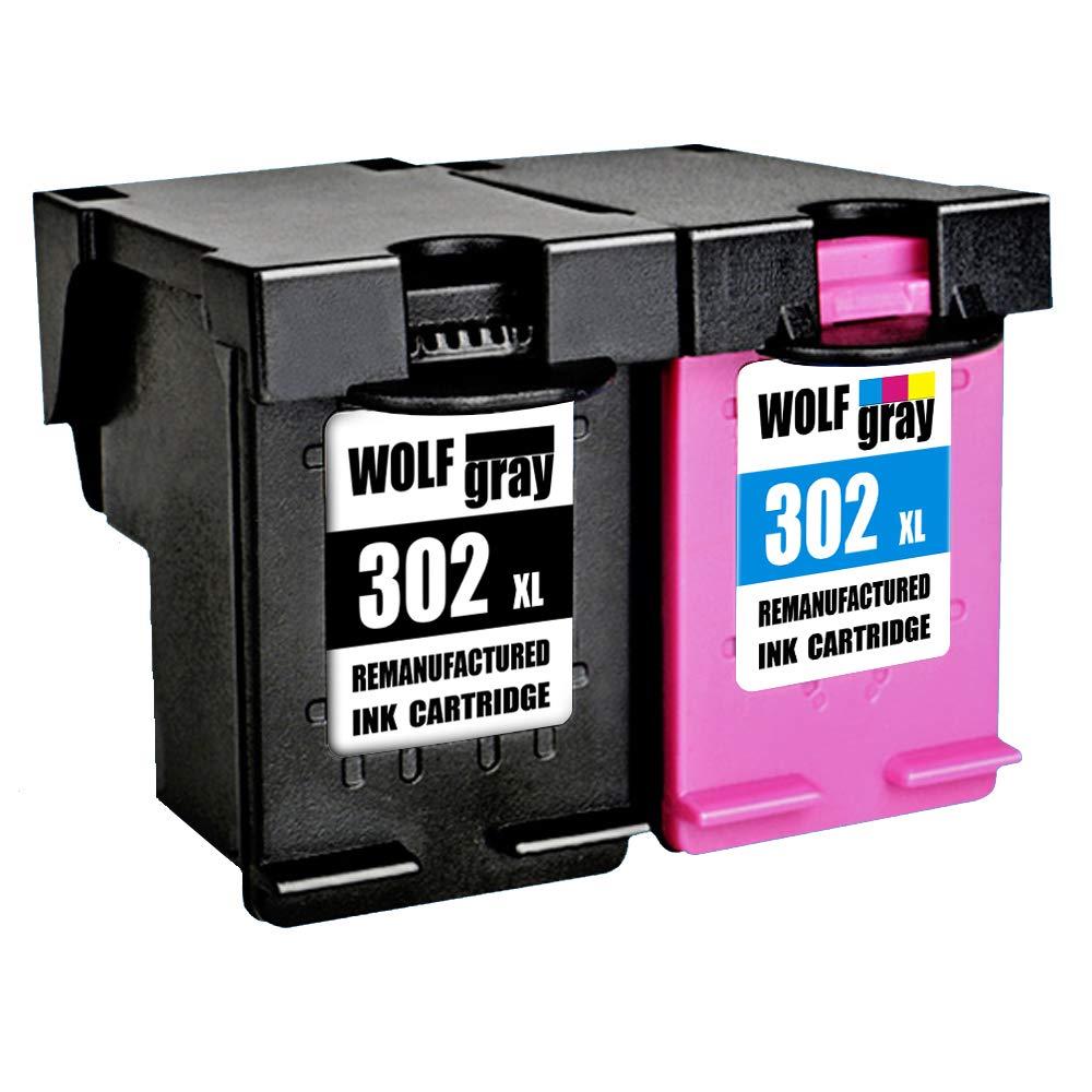 Wolfgray Remanufacturado para HP 302 XL 302 Cartuchos de ...