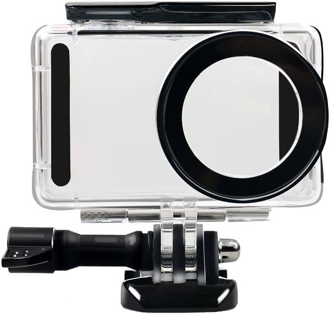 TOOGOO para Xiaomi Mijia 4K Kit de Funda cascara de Buceo Impermeable 45M de Mini Camara de accion