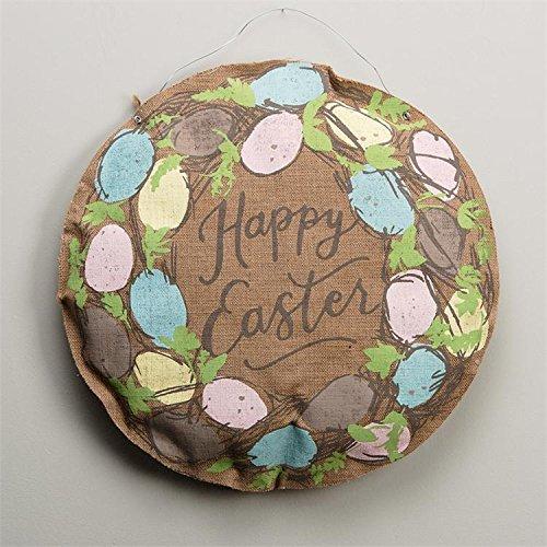 Glory Haus 99100002 Easter Egg Wreath Burlee, Multicolor