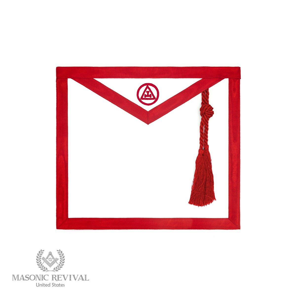 Royal Arch Mason Chapter Member Apron by Masonic Revival by Masonic Revival