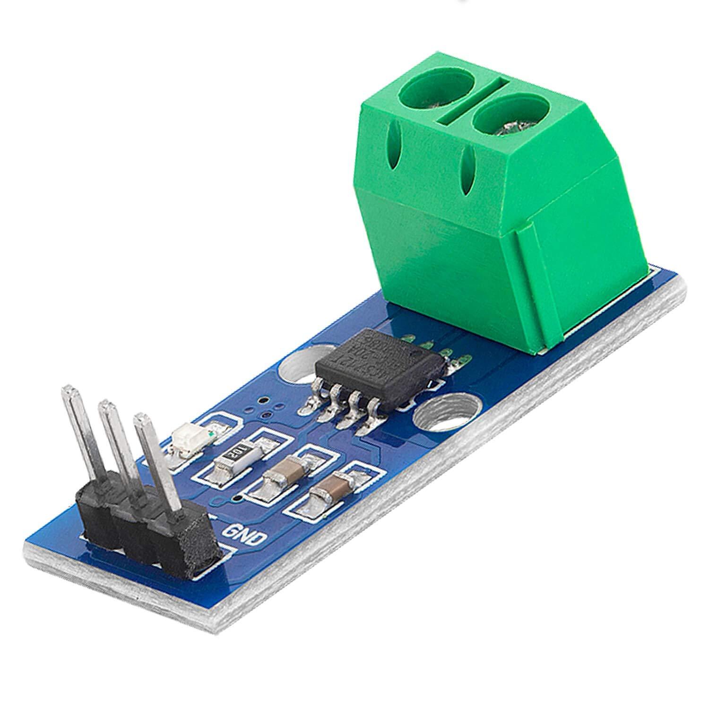 AZDelivery ACS712 Sensor de Corriente 20A módulo de Rango de medición para Arduino Bascom con eBook incluido