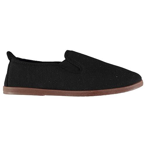 Slazenger Mujer Kung Fu Zapatillas De Lona: Amazon.es: Zapatos y complementos