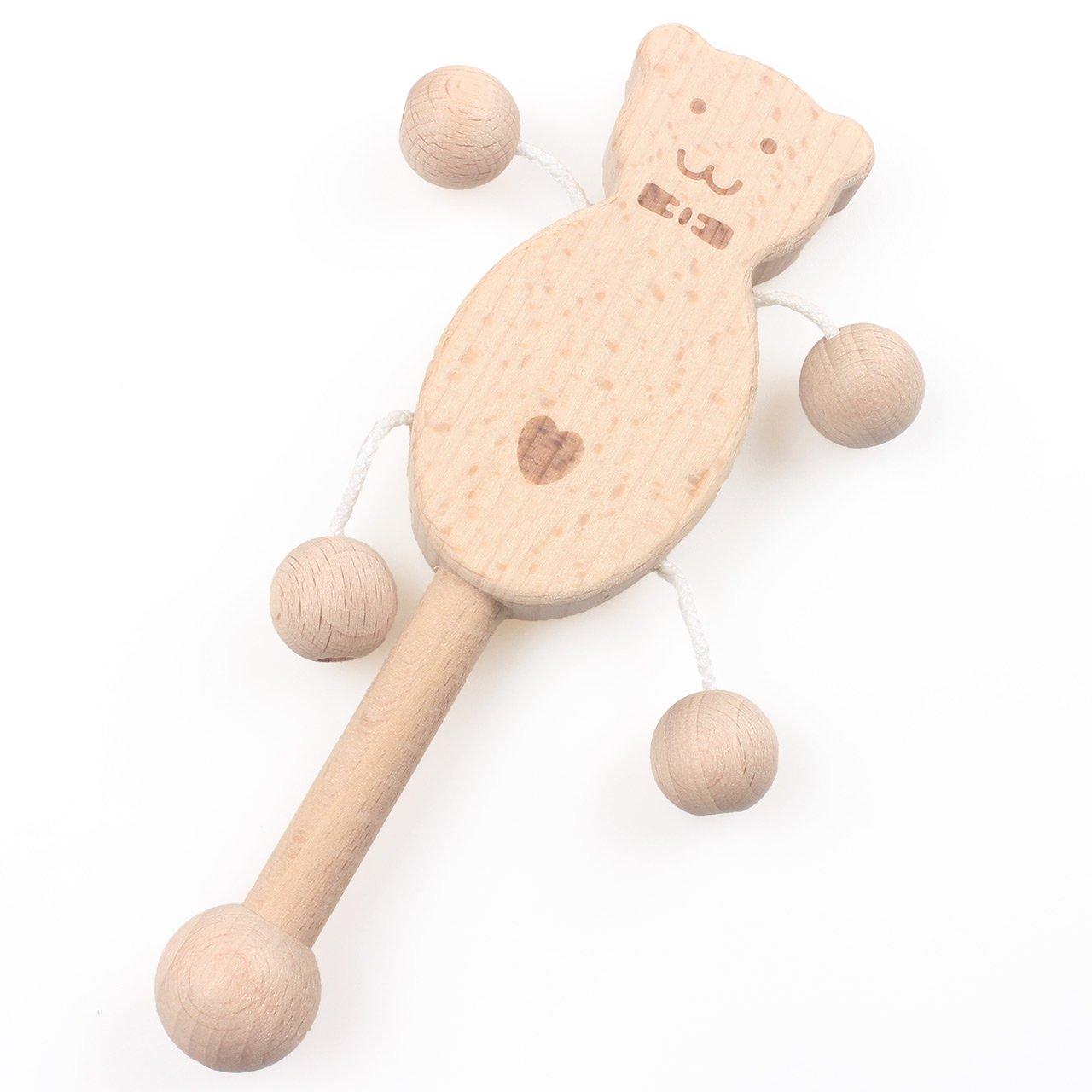 新品本物 Hiベビーモーメント赤ちゃんTeether木製Teethingのセット5 Bell B07DBLFVBX Natural Girl E-twbo08 Boy噛むおもちゃ幼児トレーニングおしゃぶり有機Rattle with Tinkle Bell Montessori Toys E-TWBO08 E-twbo08 B07DBLFVBX, 超激安:22cd5341 --- a0267596.xsph.ru