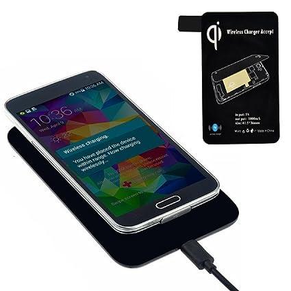 Amazon.com: Galaxy S5 i9600 G900 Cargador inalámbrico ...
