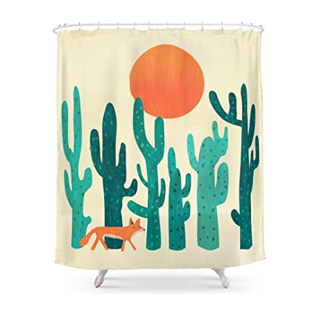 Exceptionnel Society6 Desert Fox Shower Curtain 71u0026quot; ...