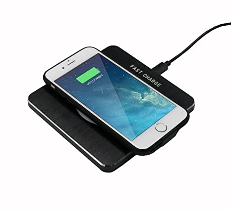 Emsmil Wireless cargador inalámbrico Charger Kit para iPhone ...
