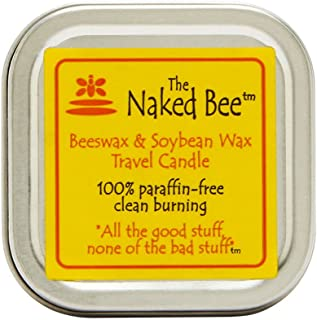 product image for The Naked Bee Beeswax & Soybean Candle