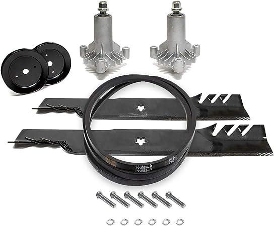 """42/"""" Deck Rebuild Kit for Craftsman LT1000 LT2000 Mower with Blades"""