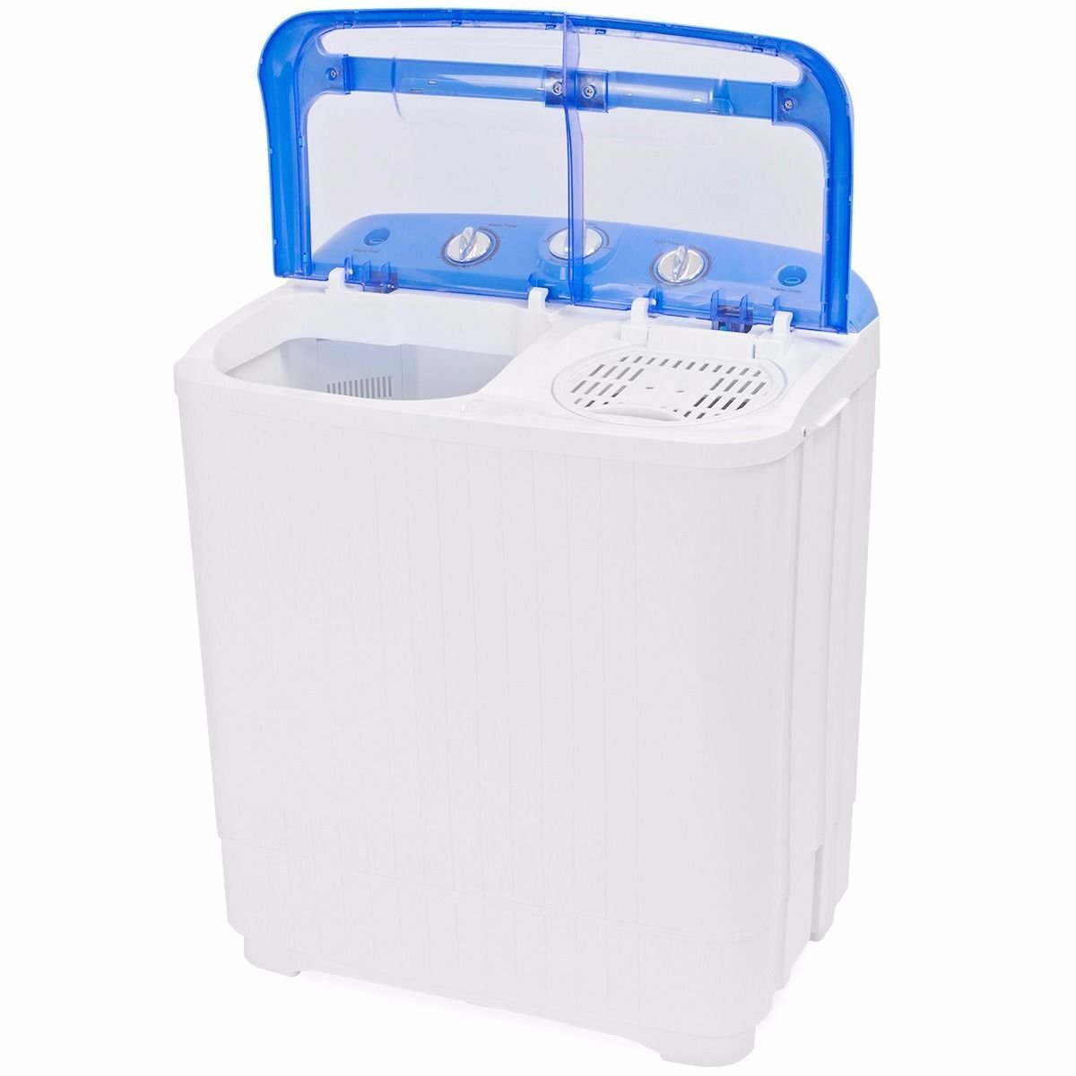 Gracelove Portable Mini Washer Dorm RV Cycle Compact 9 lbs Wash Dry Spin Machine Laundry by Love+Grace (Image #3)