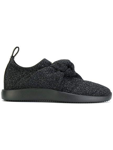 c171f567e Giuseppe Zanotti Design Women s RW70118003 Black Polyester Sneakers   Amazon.co.uk  Shoes   Bags