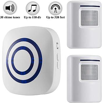 Wireless Entry Door Alert System Patrol Motion Sensor Alarm Home Security Lot