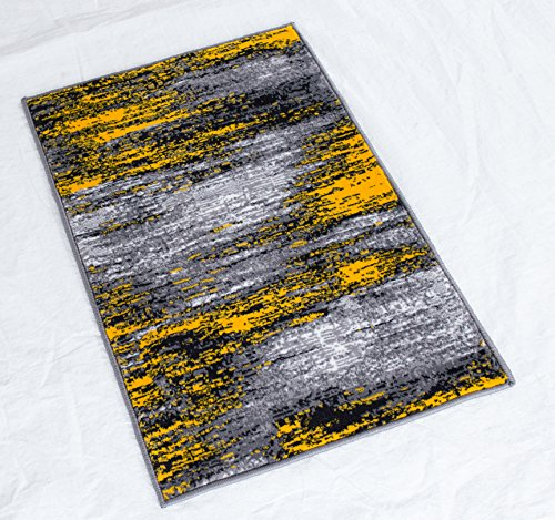 Rugs 4 Less Collection Abstract Contemporary Modern Door Mat