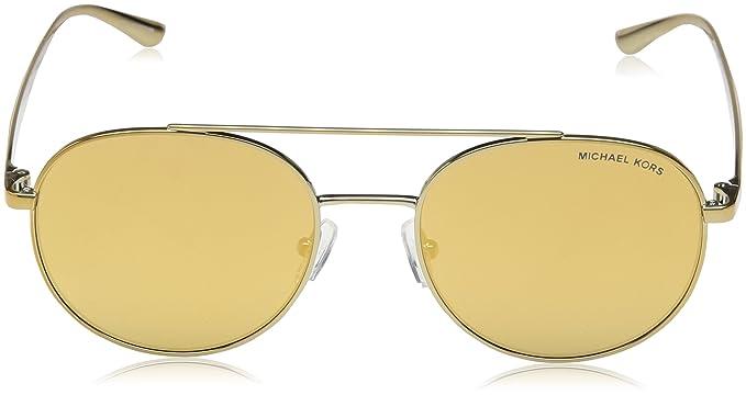 ef0efb4c1 Amazon.com: Michael Kors Women's Lon MK1021 53mm Gold Tone/Liquid Gold One  Size: Michael Kors: Clothing