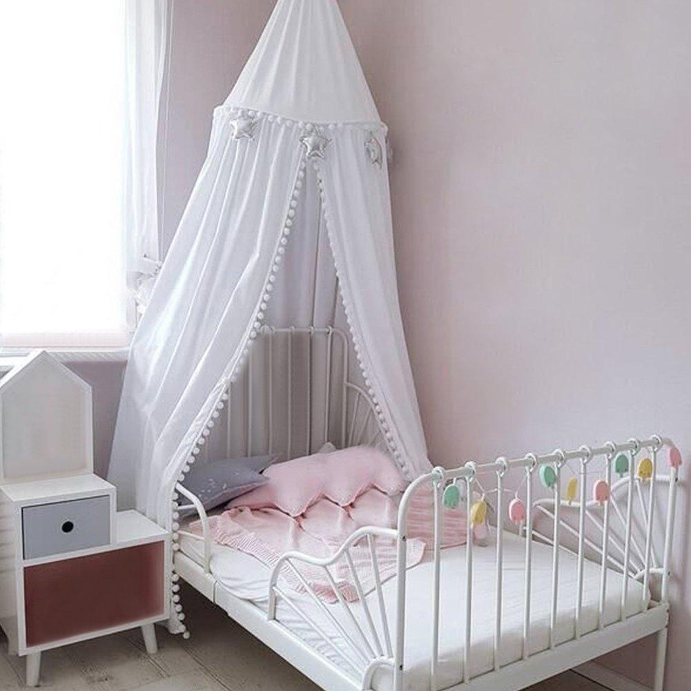Baby betthimmel deko baldachin moskitonetz kinder prinzessin spielzelte dekoration f r - Moskitonetz kinderzimmer ...
