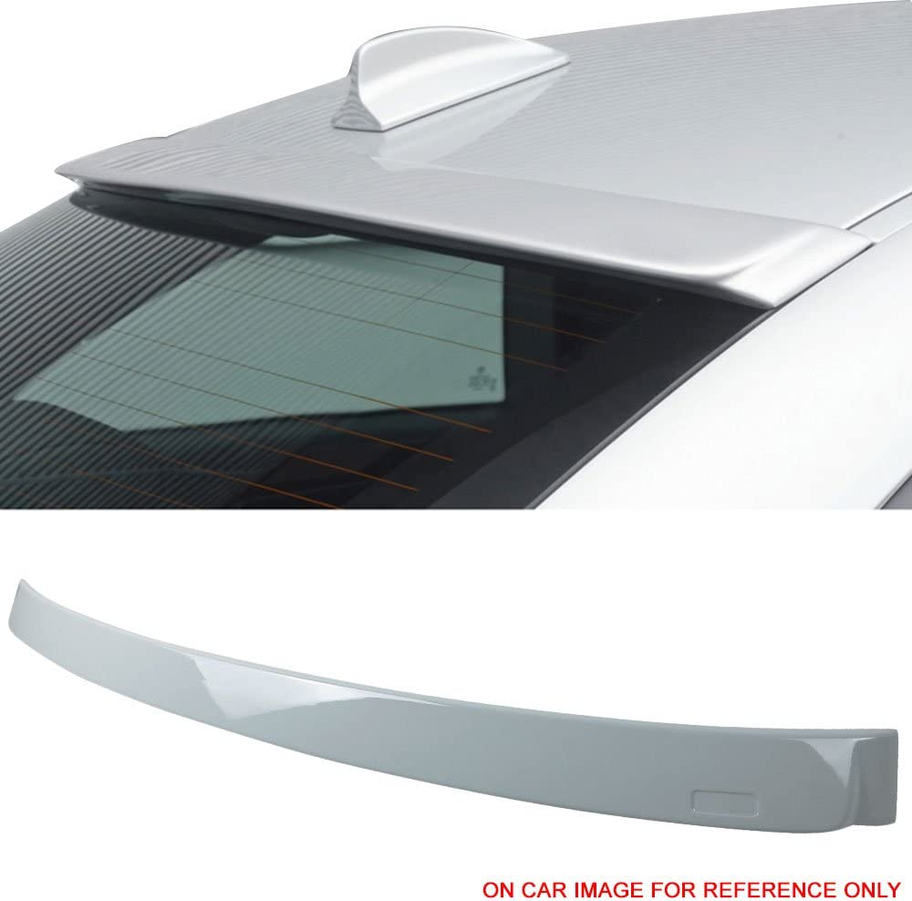 Fits 11-16 BMW 5 Series F10 Sedan AC Style Unpainted Roof Spoiler Wing