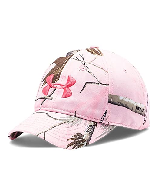 a231951624ee0 Amazon.com : Under Armour UA Camo Cap One Size Realtree Ap Pink : Sports &  Outdoors