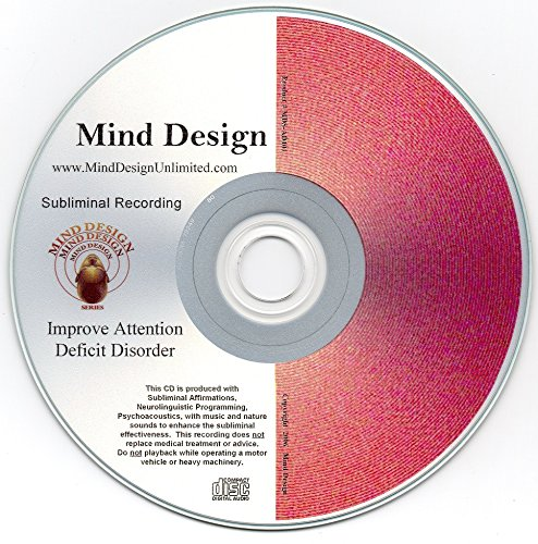Improve Attention Deficit Disorder (ADD) / Attention Deficit Hyperactive Disorder (ADHD) Subliminal CD - Get Better Focus, Concentration and Attention Span