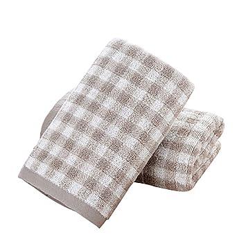 Toalla + Juego de Toallas de baño, algodón, Fuerte absorción de Agua, Mano Suave y Delicada, Esencial para el hogar: Amazon.es: Hogar