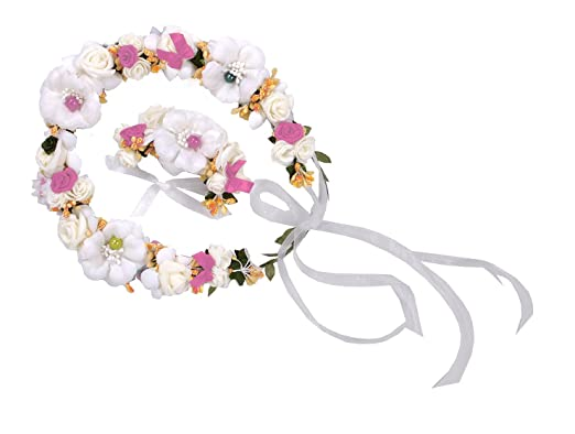 Trachten Blumenkranz Haarreif Blumen Haare Haarband Haarschmuck ...
