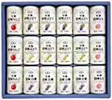 Shinshu not from-concentrate juice set MCG-340 160gX18 cans
