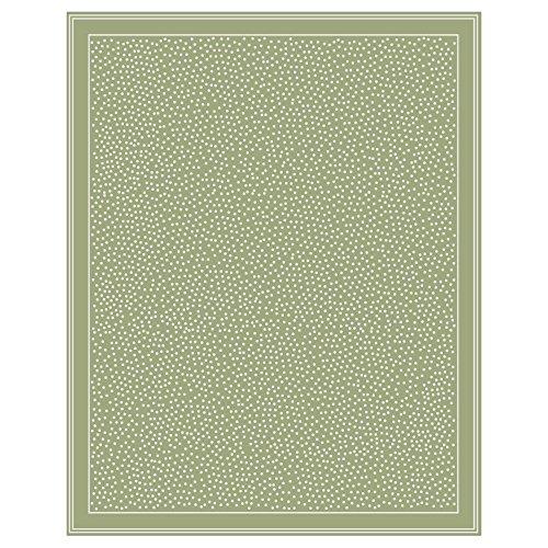 Budge Twilight Outdoor Patio Rug, RUG057SG5 (5u0027 Long X 7u0027 Wide, Sage Green)