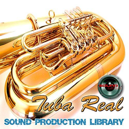 Tuba Real–Enorme único Original de revestimiento múltiple Studio muestras Biblioteca en 4dvd