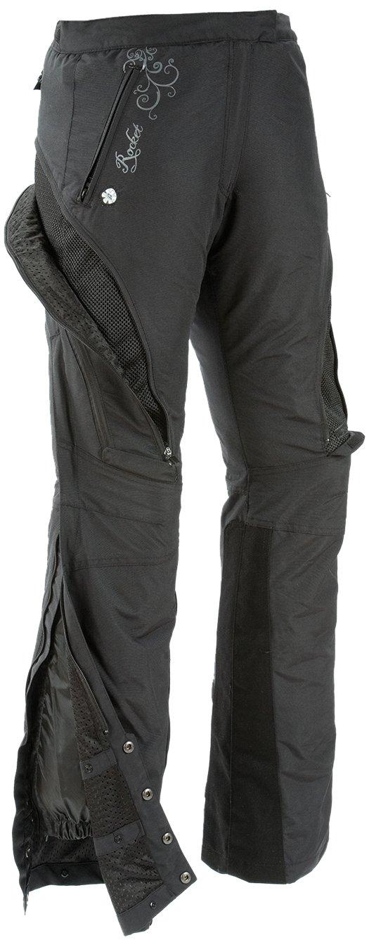 Black, Small Joe Rocket Alter Ego Womens Motorcycle Riding Pants