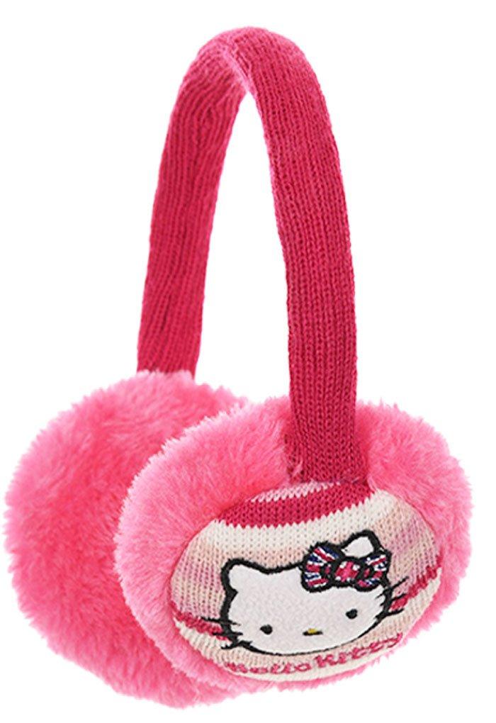 Hello kitty Mädchen Ohrenschützer rosa Rose einheitsgröße