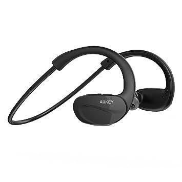 AUKEY Auriculares Deportes Bluetooth 4.1 inalámbrico Estéreo in ...