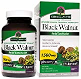 Nature's Answer Black Walnut Complex Vegetarian Capsules, 90-Count