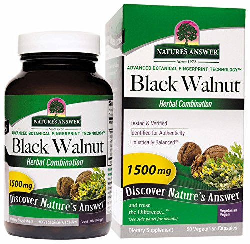 - Nature's Answer Black Walnut Complex Vegetarian Capsules, 90-Count