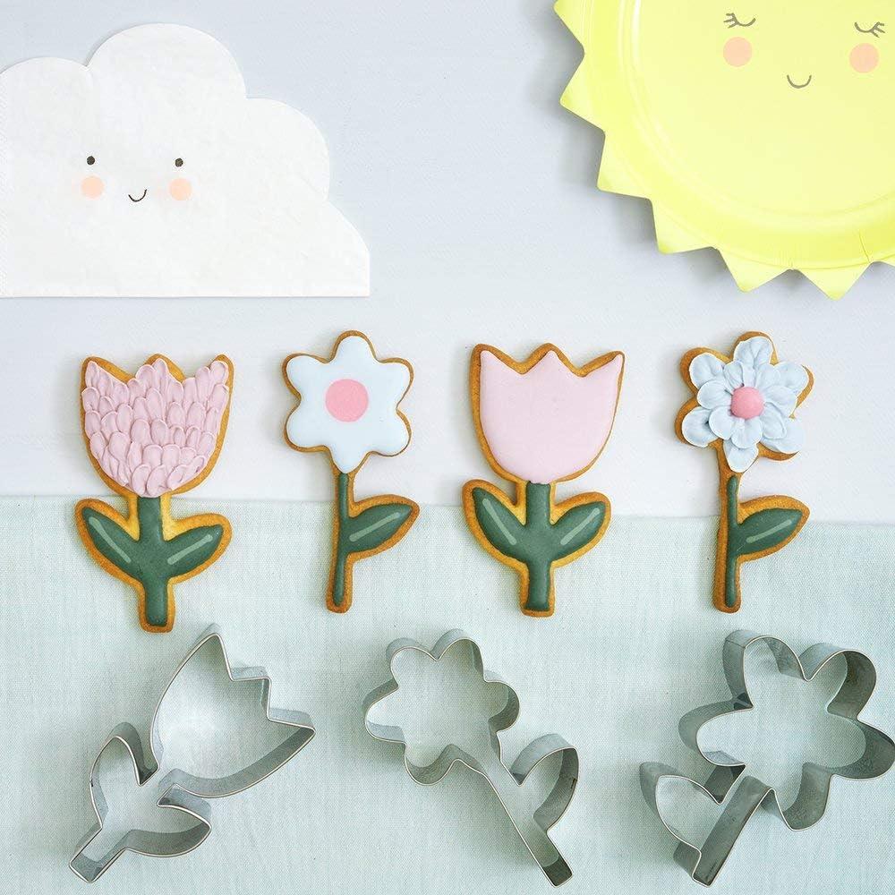 Meri Meri Flower Cookie Cutters