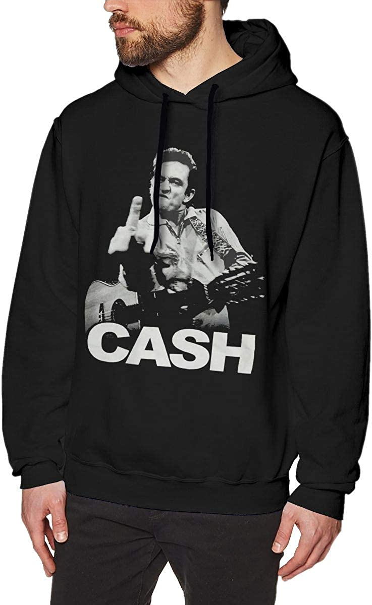AdelineEstell Johnny Cash Mans Motion Keep Warm Sweater-Knit