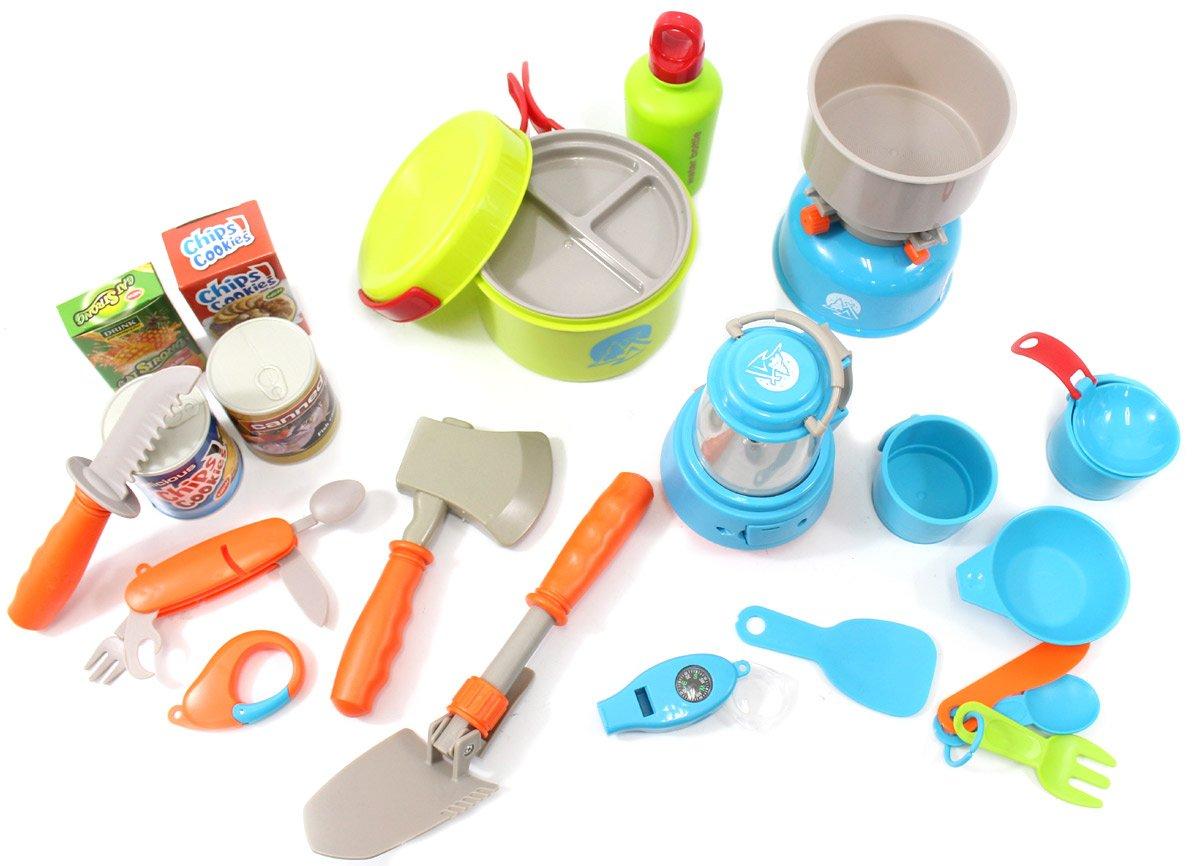 PowerTRC Camping Gear Tools Toy Playset (20 pieces) PowerTRC®