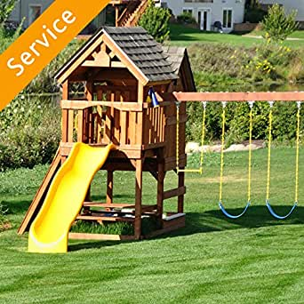 Play Set Assembly 1 Tower Amazon Com Home Services