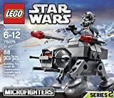 Disney Star Wars LEGO Vulture Droid toy and Star Wars AT-AT Microfighters to (Bundle)