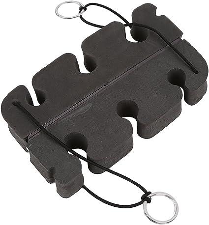 2Pcs Portable Magnetic Density Foam Fly Fishing Rod Holder