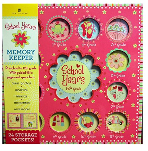 School Years Sweet Memories Deluxe Album Girl Book ()