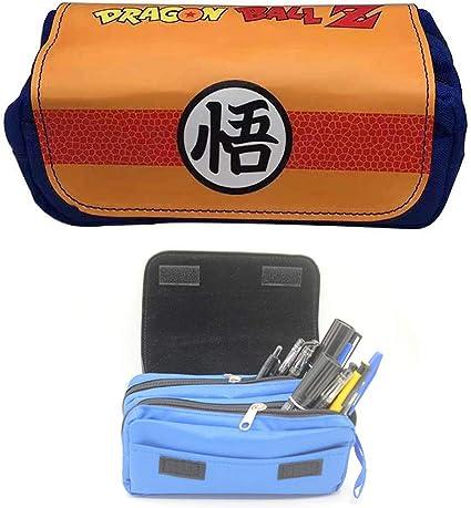 Estuche escolar de Dragon Ball Z, bonito estuche escolar para niños con dragón Ball, color J 21 * 7 * 10.5cm: Amazon.es: Oficina y papelería