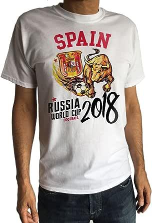 Irony Camiseta para Hombre Bandera de España Escudo Toro España ...
