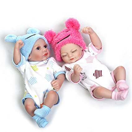 Amazon Com Reborn Twins Real Baby Dolls That Look Real Full Body
