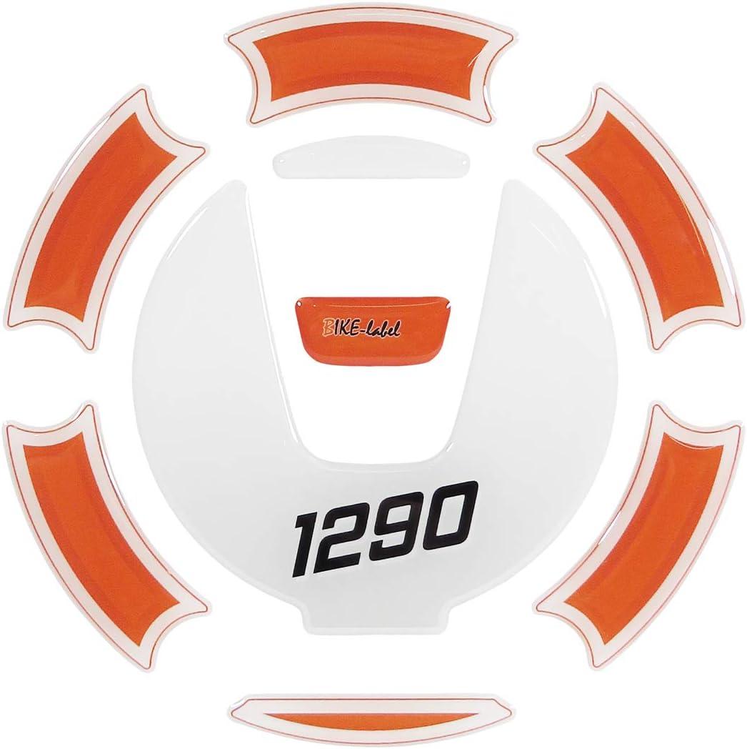 S und Super Duke R BIKE-label 660004-VA Tankdeckel Pad kompatibel f/ür KTM 1290 Super Adventure R