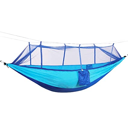 Camping & Hiking Sports & Entertainment Portable Camping Hammock Parachute Nylon Cloth Sleeping Swing Hammock For Outdoors Backpacking Travel Beach
