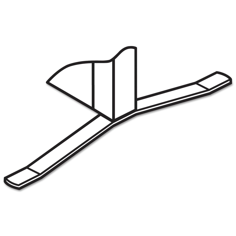 Maxon basyx TBASEGY Verse T-Base Foot Connecting Hardware Gray