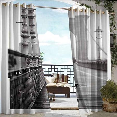 Andrea Sam - Cortina de privacidad para Exteriores para pérgola Ramo de Flores en un jarrón sobre la Mesa en la Cocina, Aislante térmico, Repelente al Agua para balcón: Amazon.es: Hogar