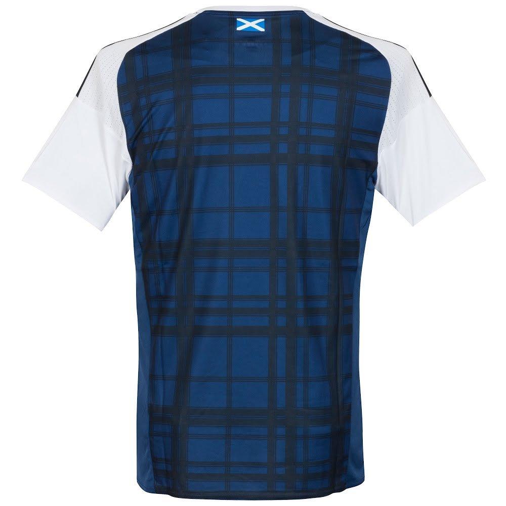 adidas 2016-2017 Scotland Home Football Soccer T-Shirt Camiseta