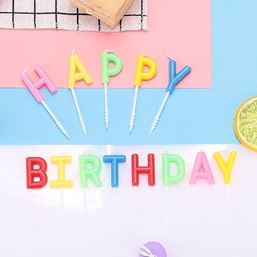 Rosepoem Vela Feliz cumpleaños Primero de la torta de ...