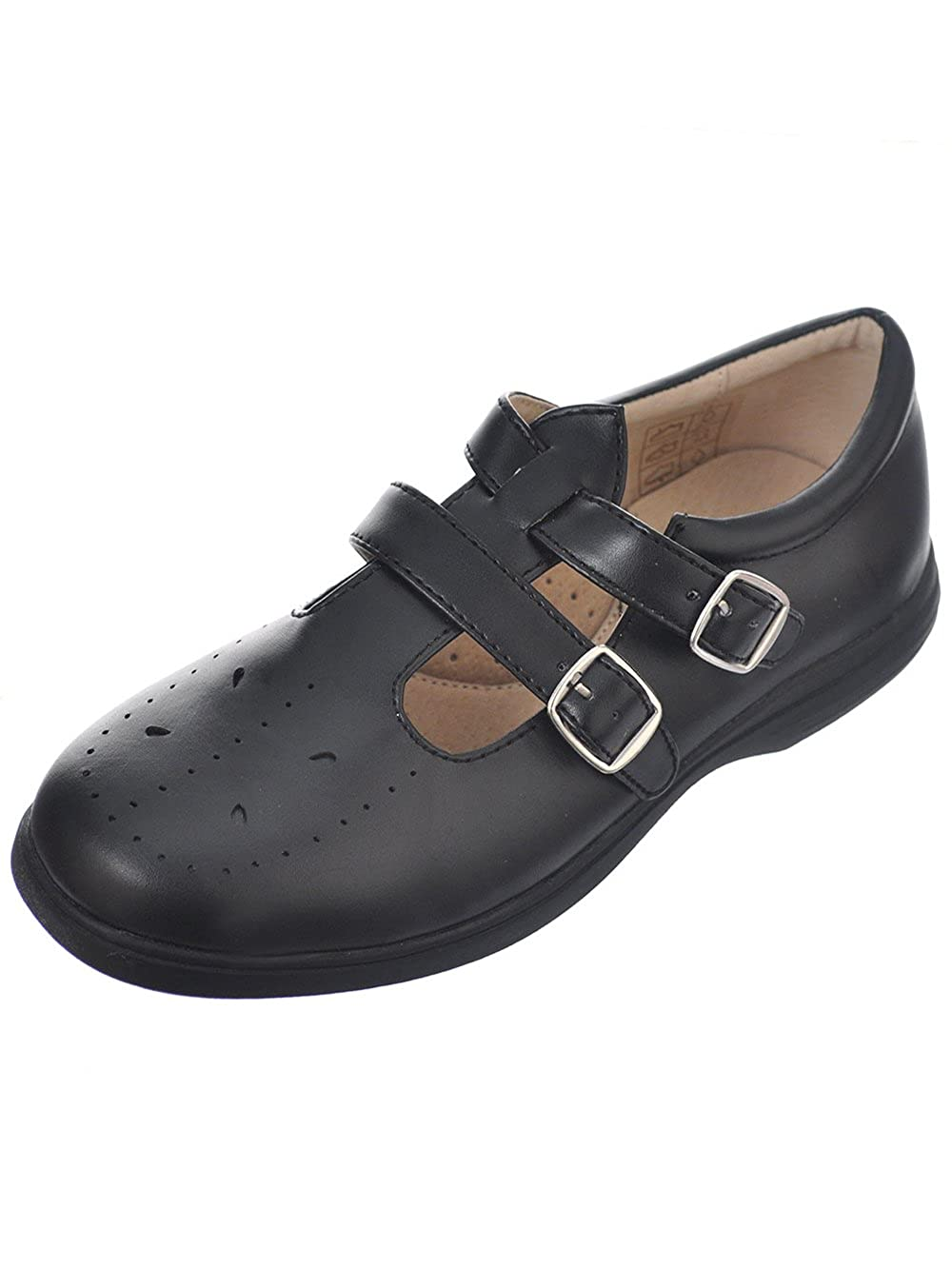 Easy Strider Girls Double Buckle T-Strap Mary Janes