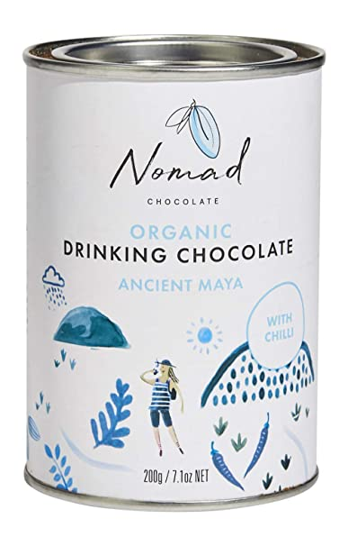 Nomad Chocolate - Organic Drinking Chocolate Ancient Maya, 7.05oz best gifts for grandmas