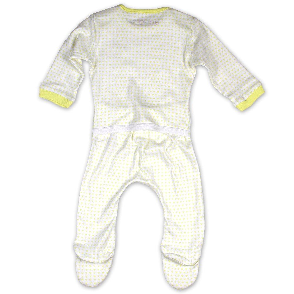 Green//bee Design Easigro The Popper Free Easy Change Baby Grow Sleepsuit